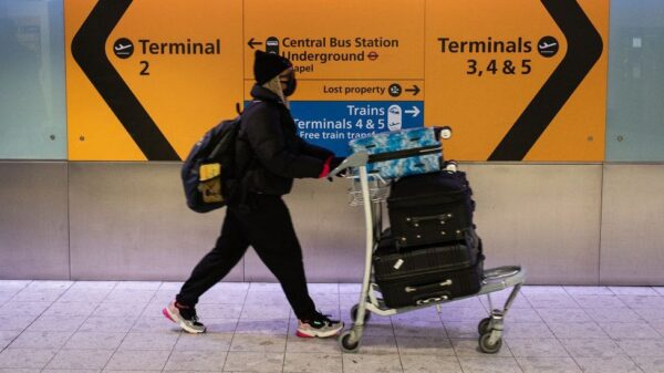 Covid-19: Travellers to UK will need to show negative test result